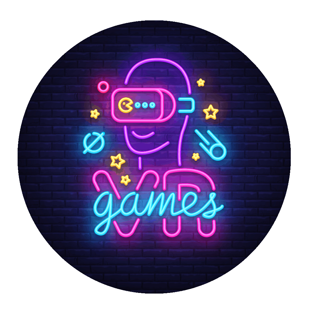 VR games neon