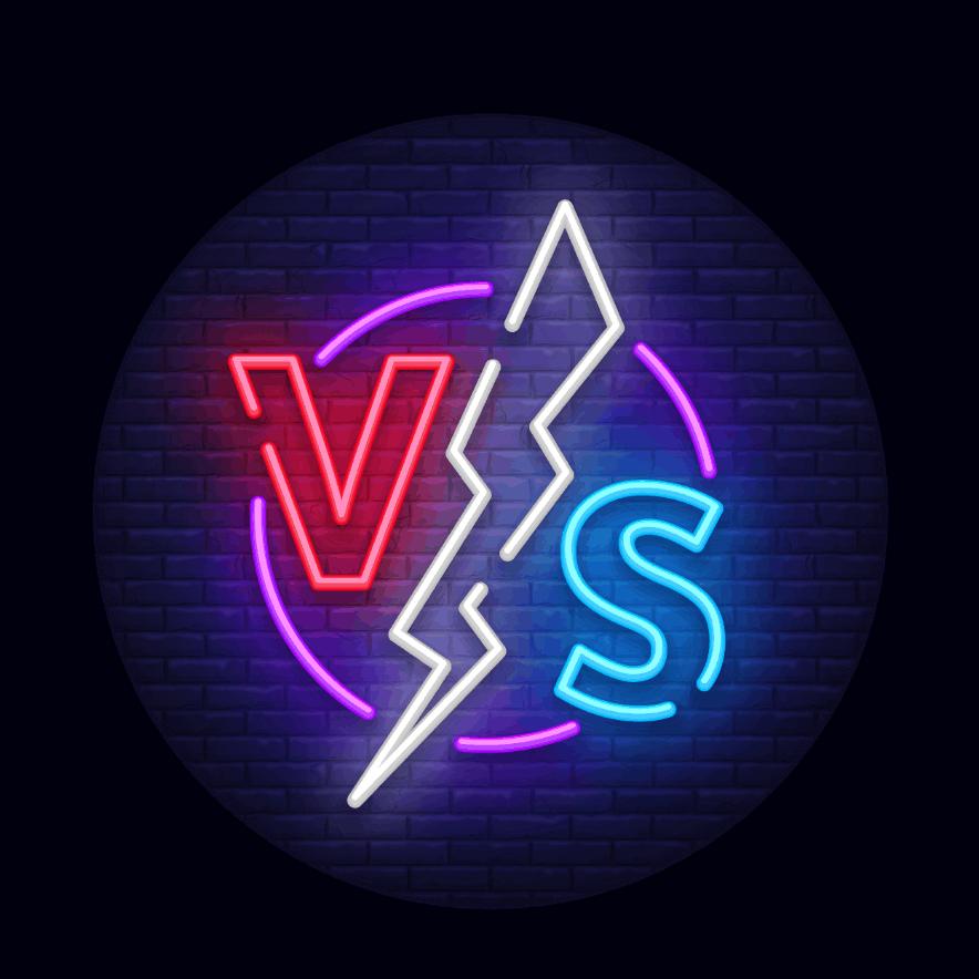 e-sports competition neon