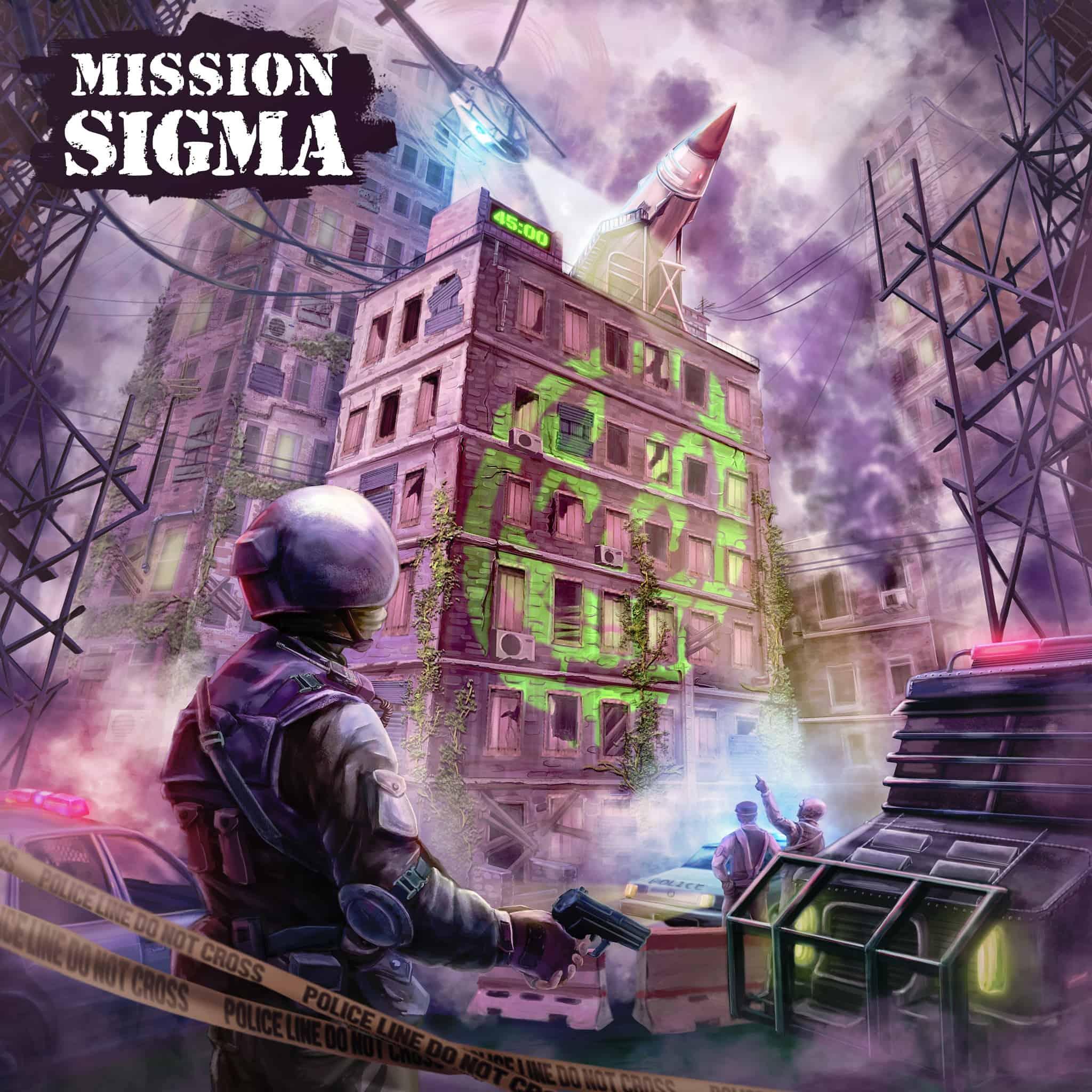 VR Escape Room Mission Sigma