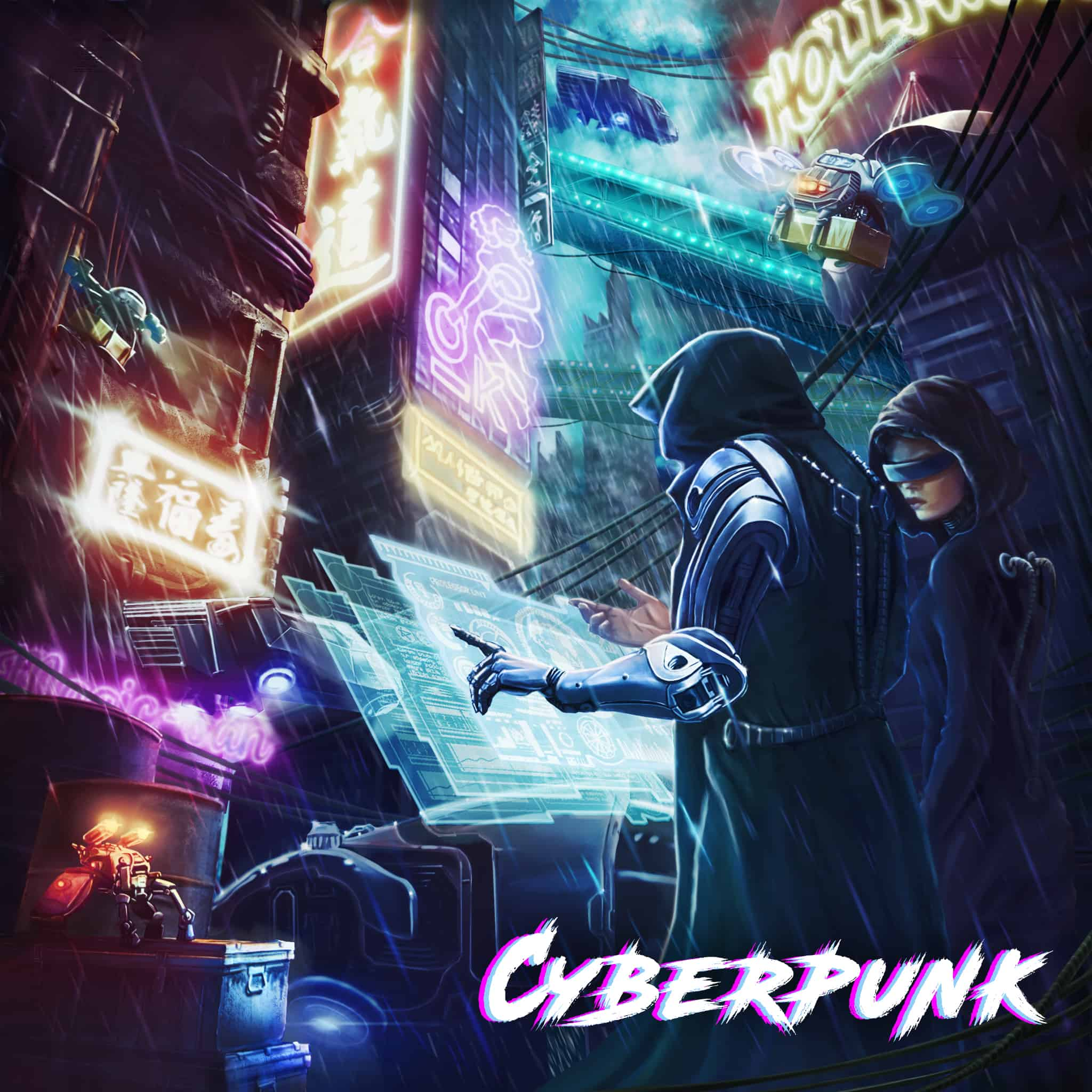 cyberpunk vr escape room