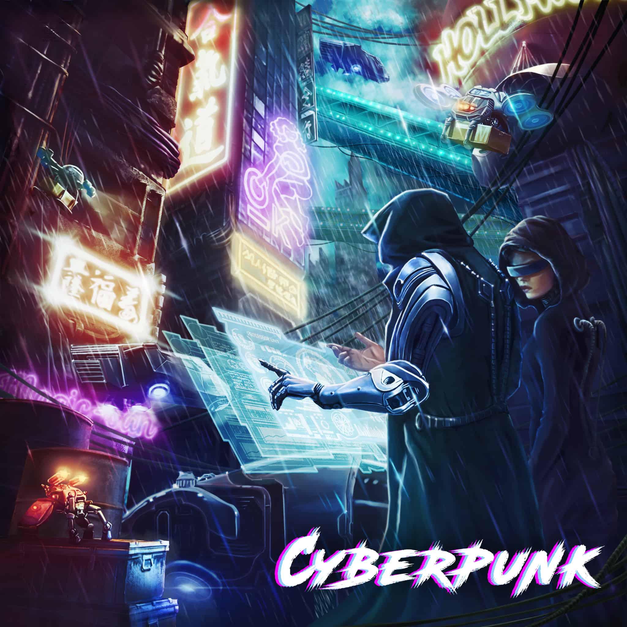 cyberpunk vr escape room