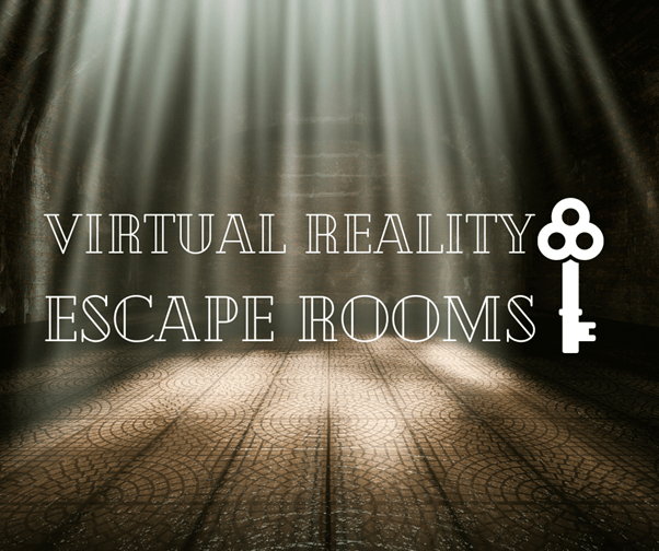 VR Escape Rooms Graphic
