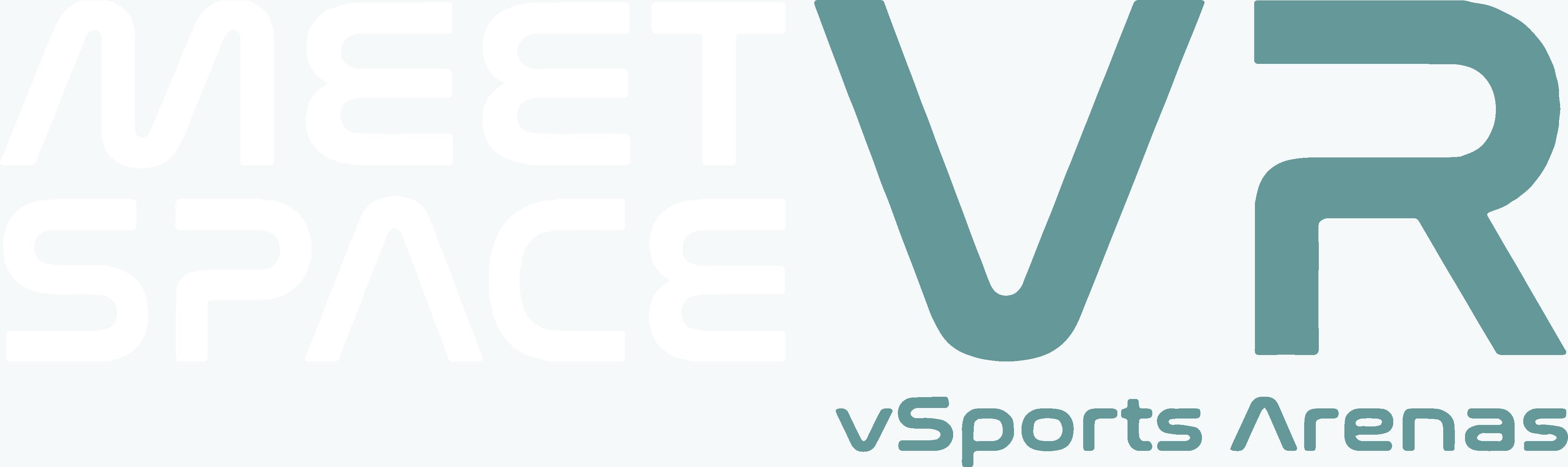 meetspaceVR Logo vSports - Inverse