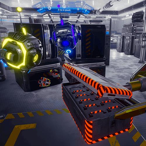 Robots: Signal lost VR escape room screenshot