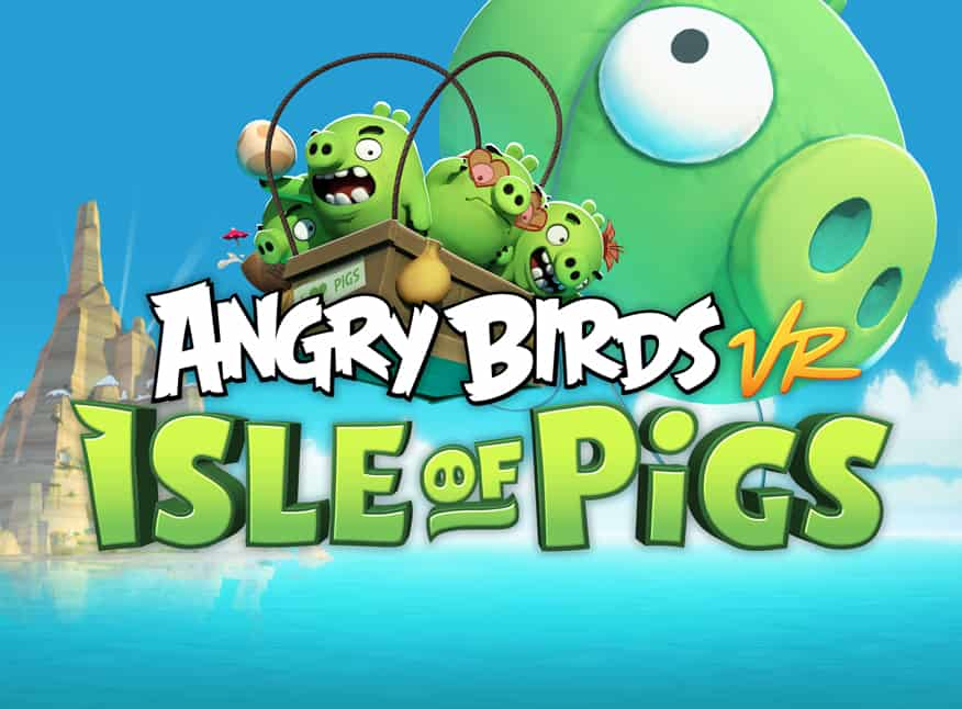 Angry Birds Isle of Pigs VR experience