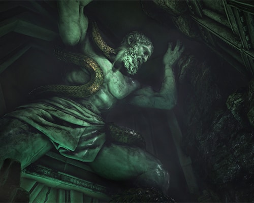 Atlas: Beyond Medusa's Gate VR escape room screenshot