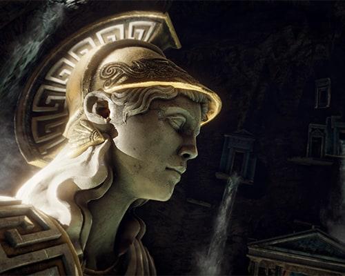 Colossus: Beyond Medusa's Gate VR escape room screenshot