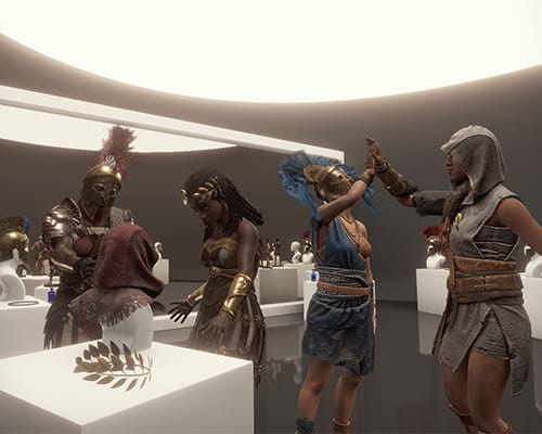 Lobby: Beyond Medusa's Gate VR escape room screenshot