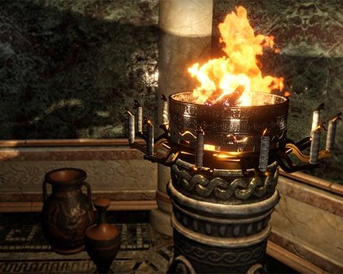 Snake Brazier: Beyond Medusa's Gate VR escape room screenshot