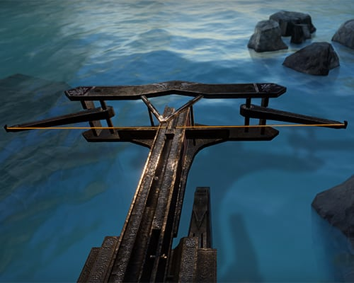 the Ballista: Beyond Medusa's Gate VR escape room screenshot