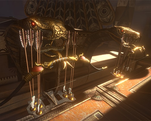 Born with snakes: Escape the Lost Pyramid VR escape room screenshot