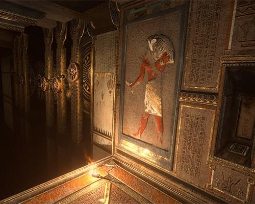 Dark Corridor: Escape the Lost Pyramid VR escape room screenshot