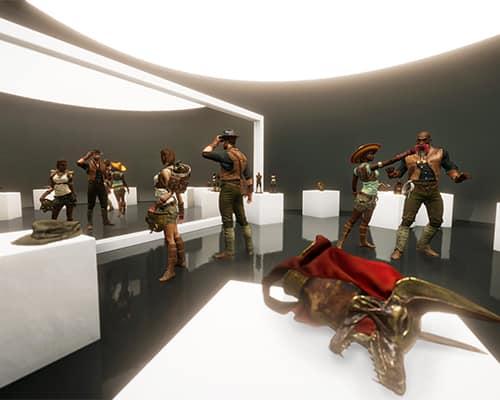 Game Lobby: Escape the Lost Pyramid VR escape room screenshot