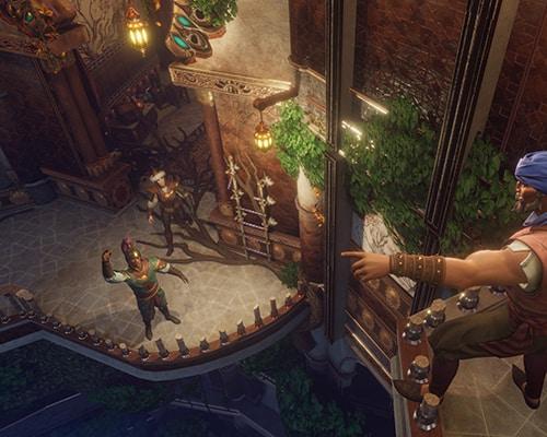 Garden Tower Dagger of Time VR escape room screenshot