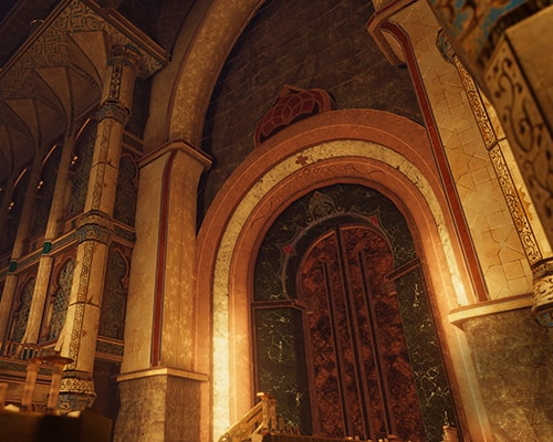Hourglass Chamber: Dagger of Time VR escape room screenshot