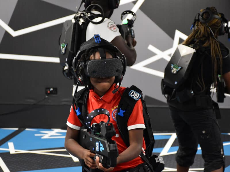 zero latency vr experience players