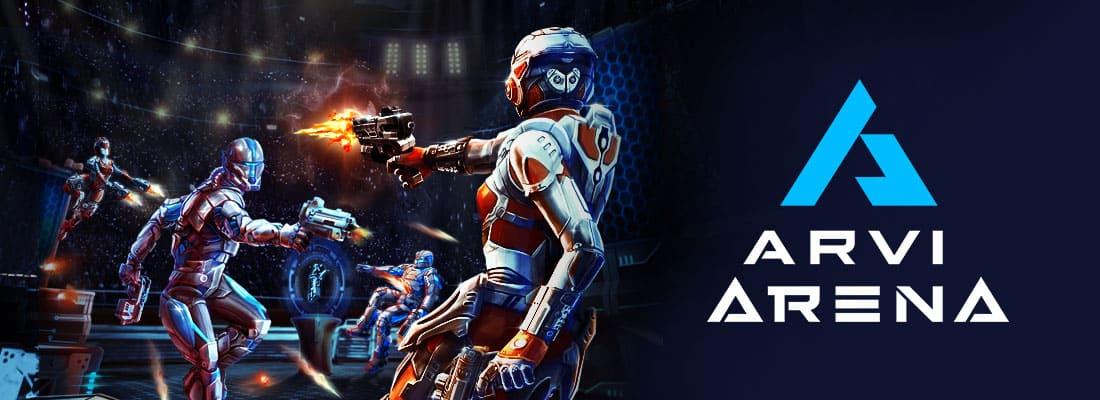 ARVI Arena VR arcade game
