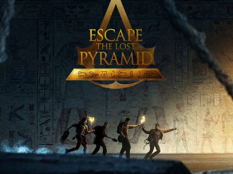 Escape the Lost Pyramid Assassins Creed VR Escape room experience