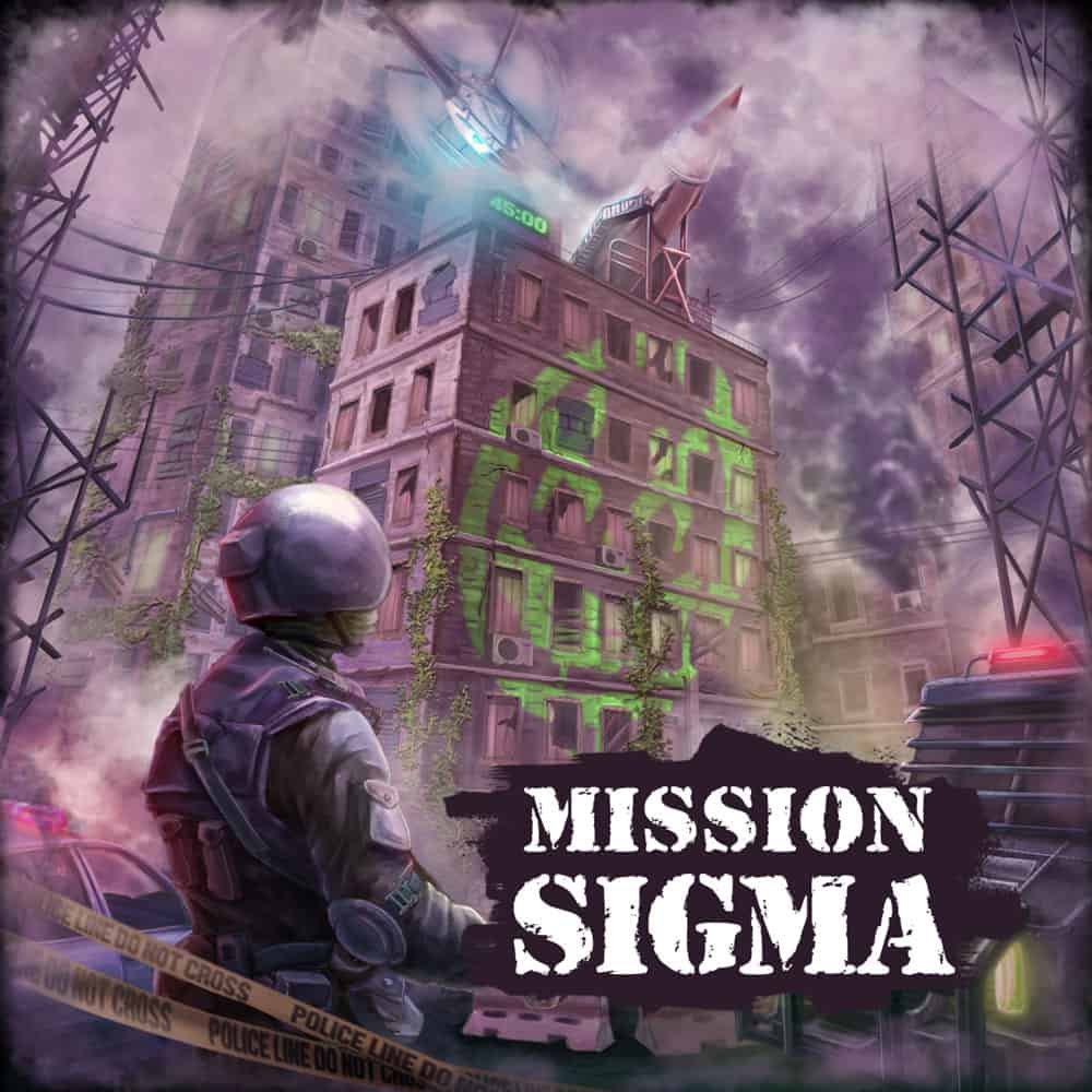 Mission Sigma VR Escape room experience