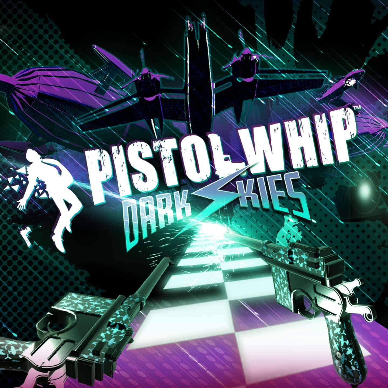 Pistol Whip Dark Skies VR arcade game