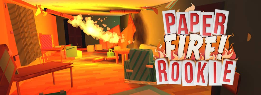 Paper Fire Rookie VR arcade game