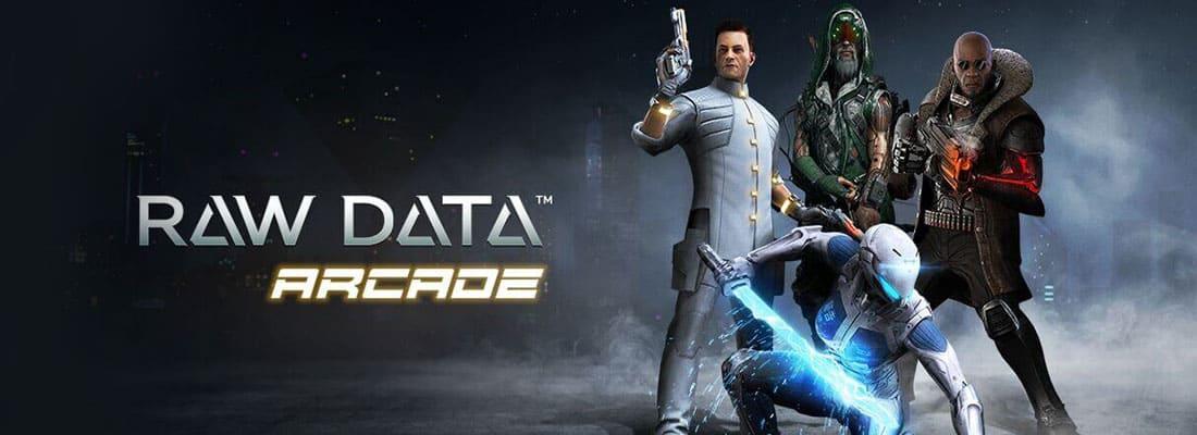 Raw Data VR arcade game