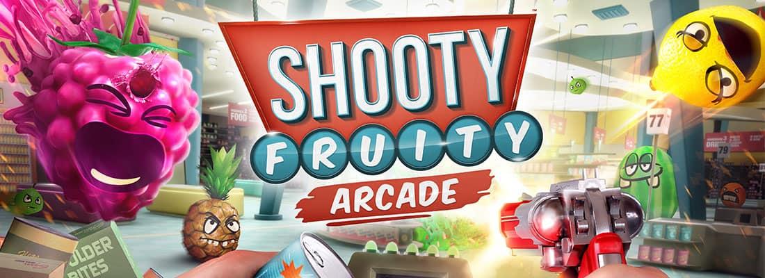 Shooty Fruity VR arcade game