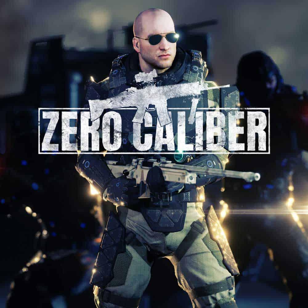 Zero Caliber soldier VR arcade game