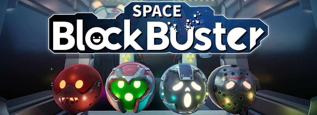 Space Blockbuster VR arcade game