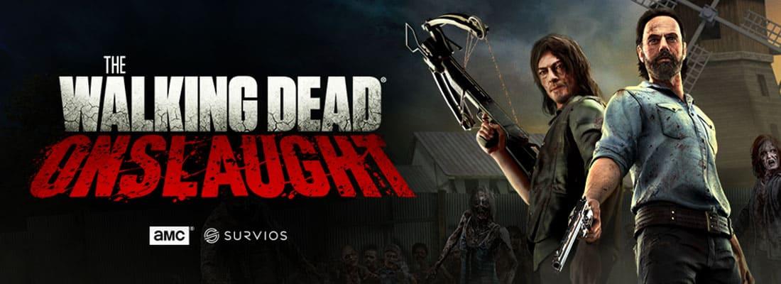 The Walking Dead Onslaught VR escape room screenshot