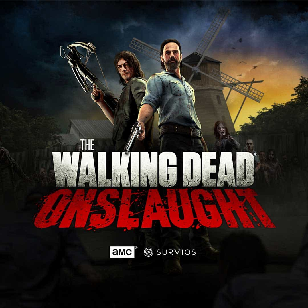 The Walking Dead Onslaught VR Escape room experience