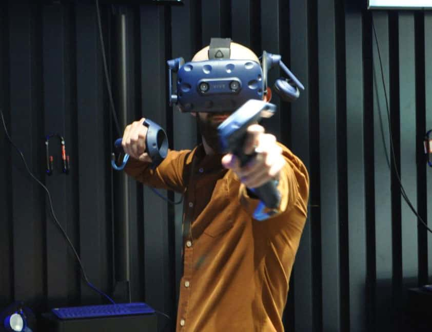 VR live action experience promos shot