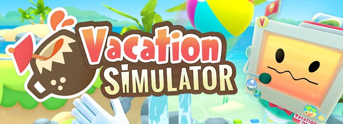 Vacation Sim VR arcade game