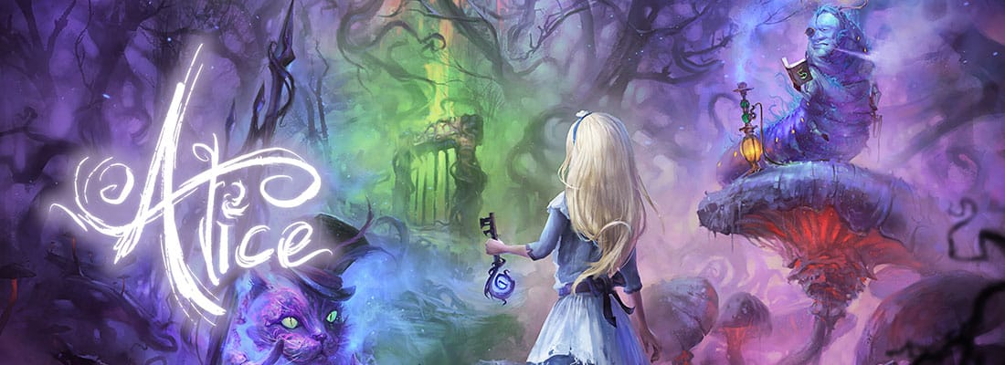 Alice in Wonderland VR escape room screenshot