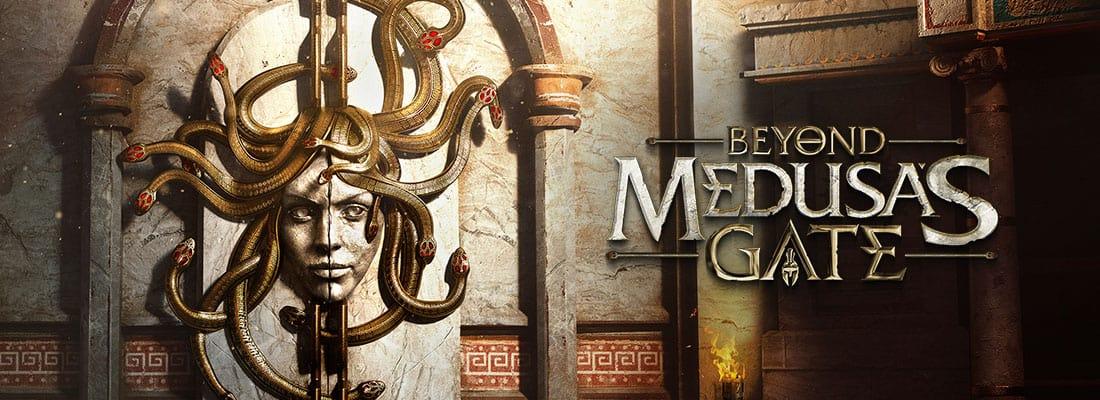 Beyond Medusa's Gate VR escape room screenshot