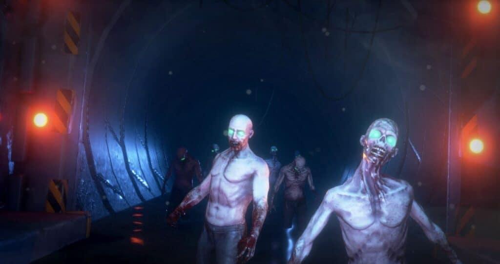 Outbreak screenshot virtual reality untethered vr birthday arena
