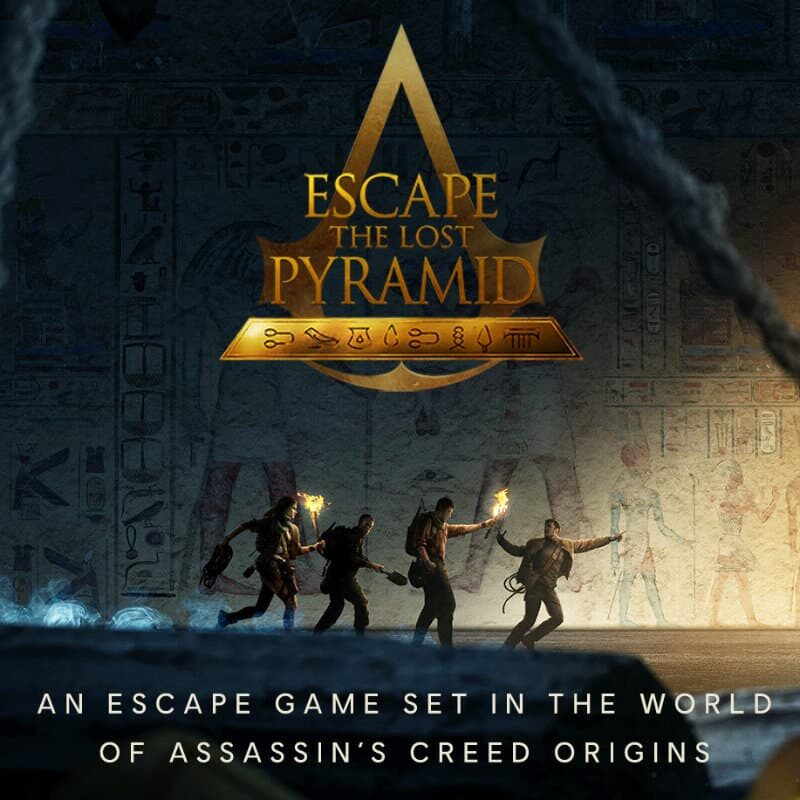 VR Escape Room Escape The Lost Pyramid